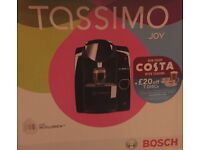 Tassimo Joy Coffee Machine and drawer for pods, Good Condition