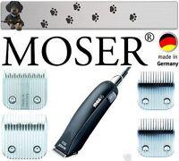 Moser 1245 Max 45 Tosatrice Per Cani + 4 Testine Di Rasatura 3mm,5mm,7mm,9mm -  - ebay.it
