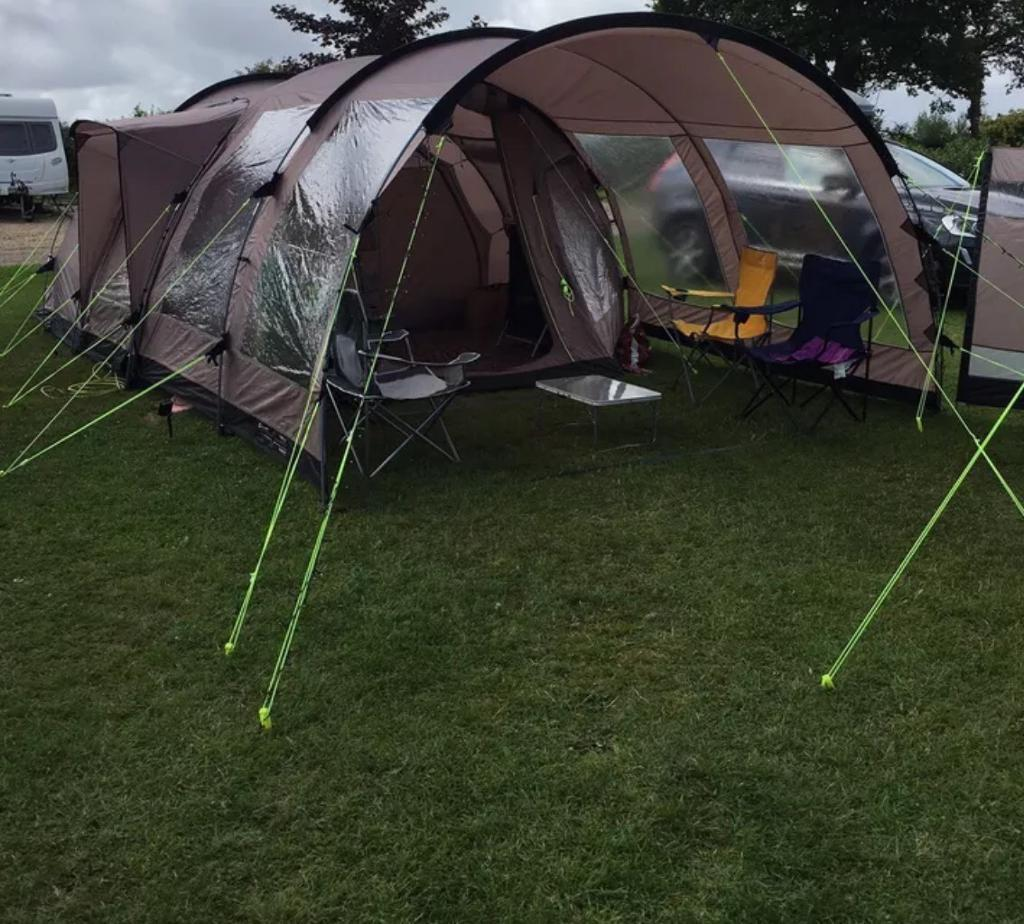 Outwell Nevada M tent plus extension, carpet , groundsheet ...