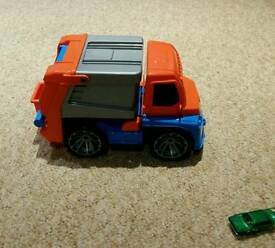 Toy rubbish truck