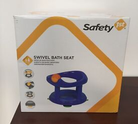 Safety 1st Blue or Pink Swivel Bath Seat **NEW**