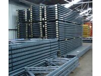 Used Dexion Warehouse Racking - Pallet Racking- 24 bays 4m high x 1067mm D x 2667mm W x 3 Levels