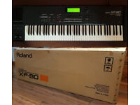 Roland XP 80 keyboard workstation. Immaculate condition XP80 Almost as new. Boxed. Rare opportunity