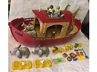 Playmobil Noah's ark playset figures animals boat lego toy 5276
