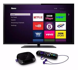 Abonnement sur Roku & Mag & Smart Tv & Android Box