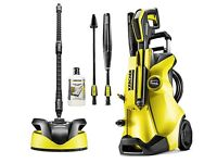 New Karcher K4 Full Control Home Pressure Washer - Car Garden Patio Drive Cleaner - 3 Years Warranty