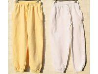 "Ladies Small x2 Authentic & x1 Blue Elasticated Jogging Sweat Pants / Bottoms & x1 Leggings W24-26"""