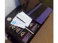 Hardly Used HP Pavilion G6 Laptop - (Purple)