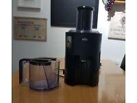 Juicer (braun j300) spin juicer