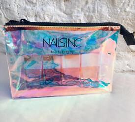 Nailsinc polishes with bag