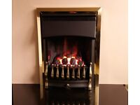Valor Ultimate Slimline 3.1 Kw Inset Gas Fire (Brass/Black)