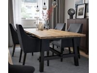 IKEA SKOGSTA modern Dining table (used for 3 months, but almost new)