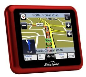 Binatone G350 Satellite Navigation System with UK and ROI Mapping.