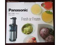 Panasonic slow juicer mj-l500 (NEW)