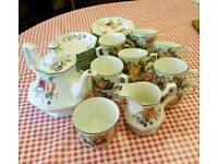 Johnsons brother tea set
