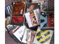 CD's 50p each and Double CD's £1 each