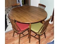 Dinette Circular Dining Table with 4 Seats