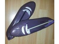 Ladies Flat Shoes, by Jones, Colour Grape, Flat heels, Brand New, Boxed