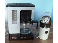 BREVILLE COFFEE MAKER AND MOULINEX COFFEE GRINDER
