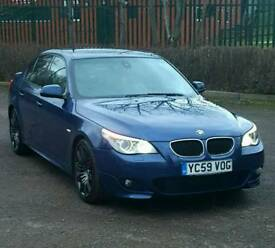 2009 BMW 525d m sport business edition huge spec many extras 3.0 diesel