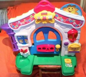 Fisher Price Learning Home Activity Centre Ages: 6-36 months MODEL NUMBER C6327