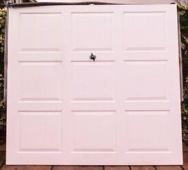 Garage Door up and over Standard size.