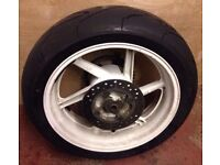 CBR900RR RRW '98 Rear Wheel Complete With Tyre