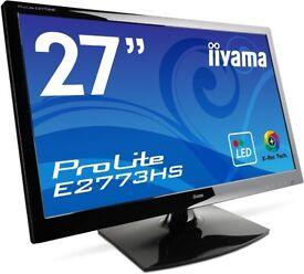 As new Stunning ultra-sharp 27' ProLite E2773HS gaming monitor