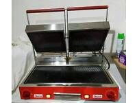 Commercial panini double grill sirman