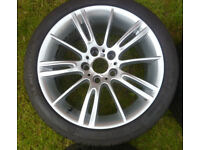 BMW OEM Alloys - Style 193 - with tyres
