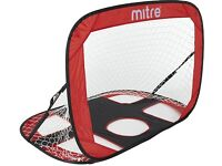 Mitre 2 in 1 Quick Pop Up Target Goal - like new