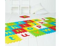 Foam alphabet play mat
