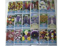 18 Packs Perennial / Herbaceous Flower Border SEEDS