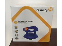 Safety 1st Blue Swivel Bath Seat **NEW**