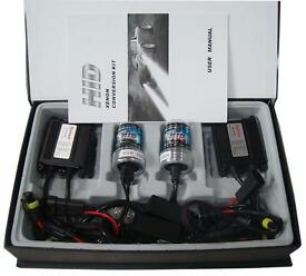 H7 xenon hid conversion kit brand new boxed 6000k 8000k slim line technology