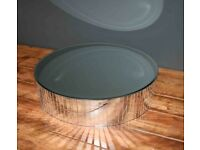 Beautiful single tier Mirror cake stand