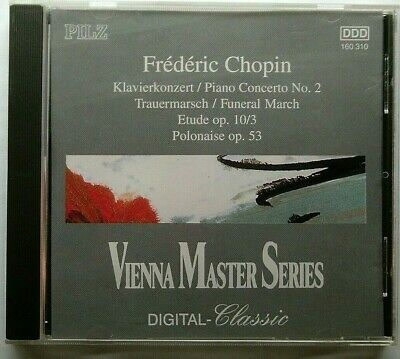 CHOPIN: Piano Concerto No. 2 in F minor; +more (CD) PETER SCHMALFUSS w/