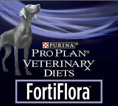 PURINA PRO PLAN FORTIFLORA CANINE DOG PROBIOTIC DIET FOOD SUPPLEMENT 10 x 1g