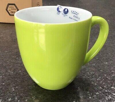 KAHLA - PRONTO - PORCELAIN CHINA  COFFEE MUG - XL- 400ml -GREEN  575334A72456C