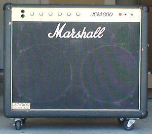 vintage marshall jcm 800 50 watt lead model 4104 guitar amp very good upgraded ebay. Black Bedroom Furniture Sets. Home Design Ideas