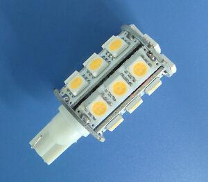 10x-T10-194-921-bulb-24-5050-SMD-LED-Super-Bright-DC12V-Warm-White-Z