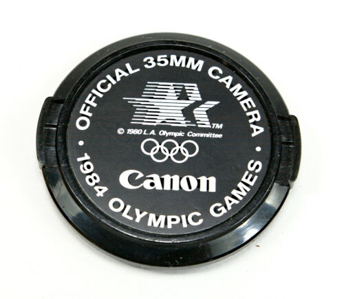 Canon 1984 Olympic Games 52mm Lens Caps