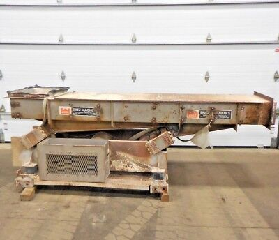 Rx-4437 Eriez Vibratory Feeder. 28 Opening. 5 Hp. 3 Ph. 230460 V. 1730 Rpm.