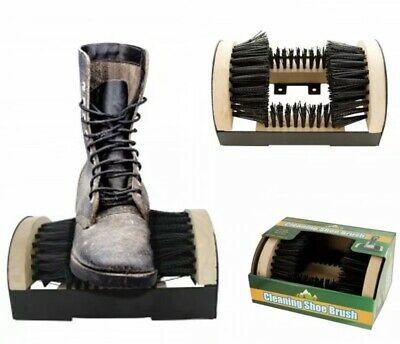 Boot/Shoe Scrubber Cleaner Brush Sneaker Scraper Mud Dirt Outdoor FREE SHIPPING
