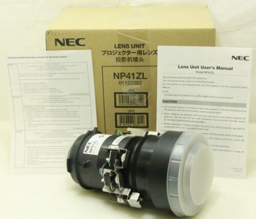 NEC NP41ZL 1.30 - 3.08:1 Zoom Lens for NEC PA Series Projectors - NEW
