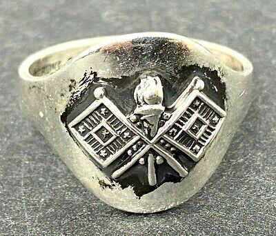 Vintage US Army Signal Corps Sterling Ring