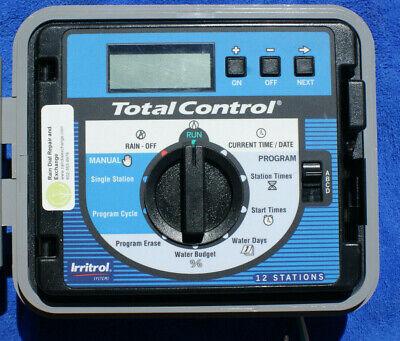 Irritrol Total Control TC-12EX-B 12 Station EXT_INT sys-Fst Shp,Warranty,Tested