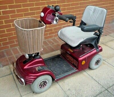 Shoprider Mobility Scooter in red