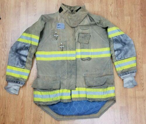 Morning Pride Ranger Firefighter Bunker Turnout Jacket w/ DRD 44 x 33
