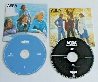 ABBA * THE DEFINITIVE COLLECTION * CD & DVD * Great Condition